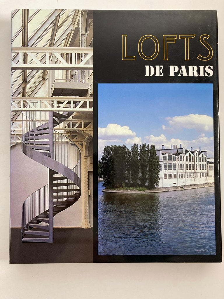 Modern Lofts of Paris, Anvers, London, Amsterdam Books For Sale