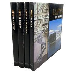 Lofts of Paris, Anvers, London, Amsterdam Books