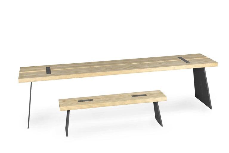 Scandinavian Loggia Bench For Sale
