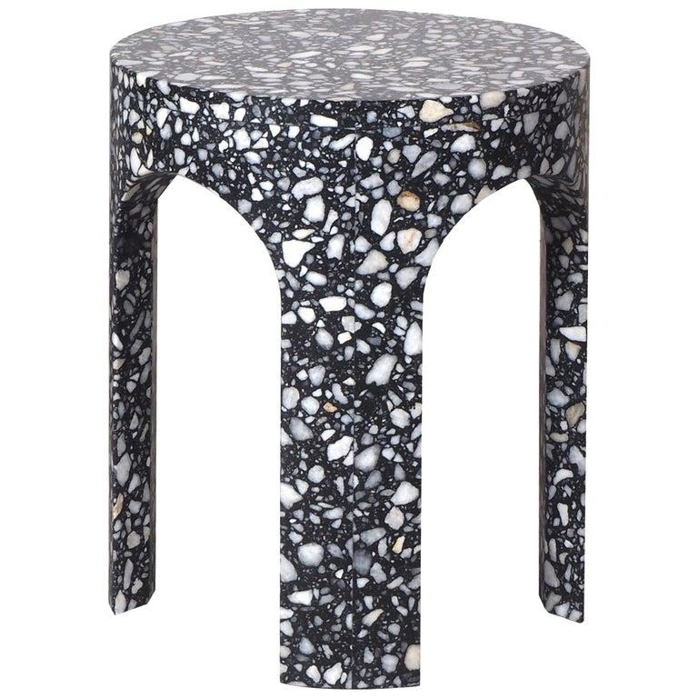 Loggia Terrazzo Side Table For Sale