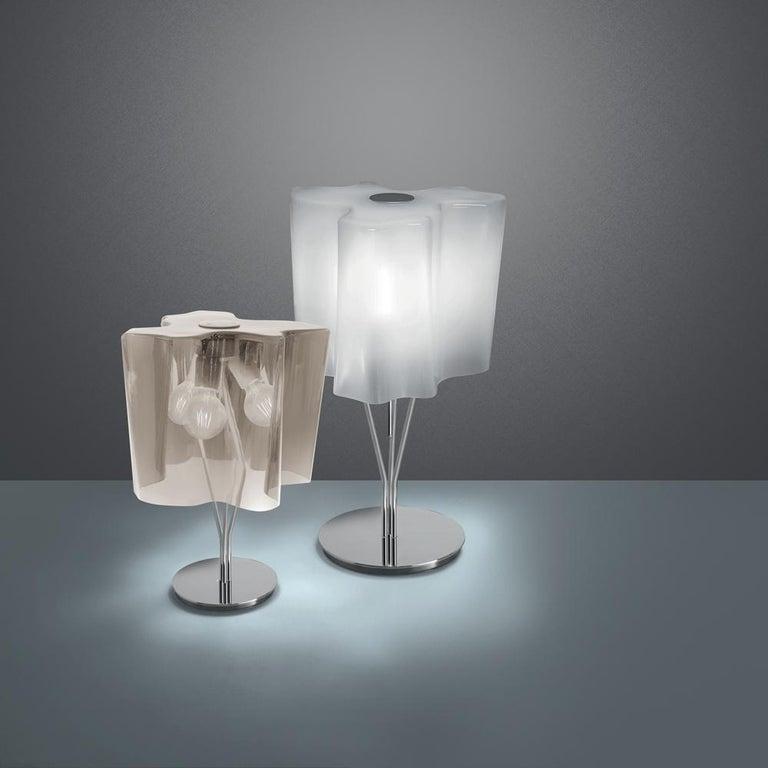 Italian Logico Mini Table Lamp in Tobacco by Gerhard Reichert & Michele De Lucchi For Sale