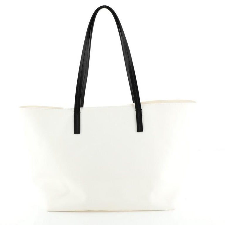 Gray Logo Tote Canvas Large