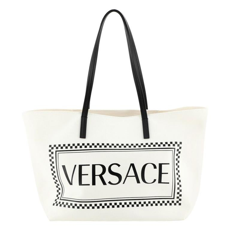 Logo Tote Canvas Large
