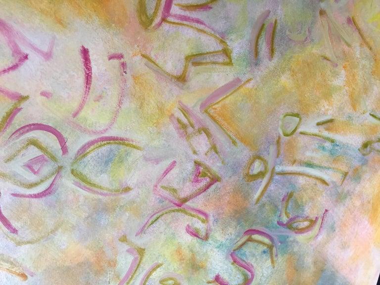 Modern Oil on Canvas by Evelyne Ballestra,
