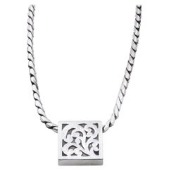 Lois Hill Sterling Silver Necklace