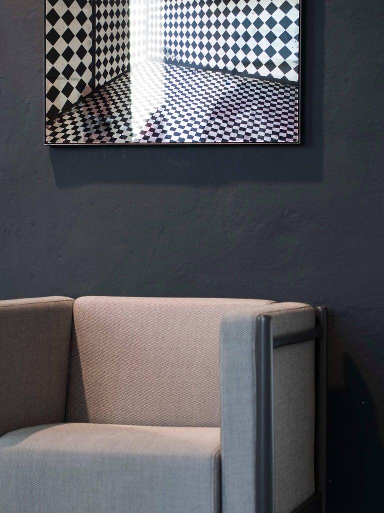 Loka Armchair Beech, Comfortable Design Upholstery Modern Style For Sale 6