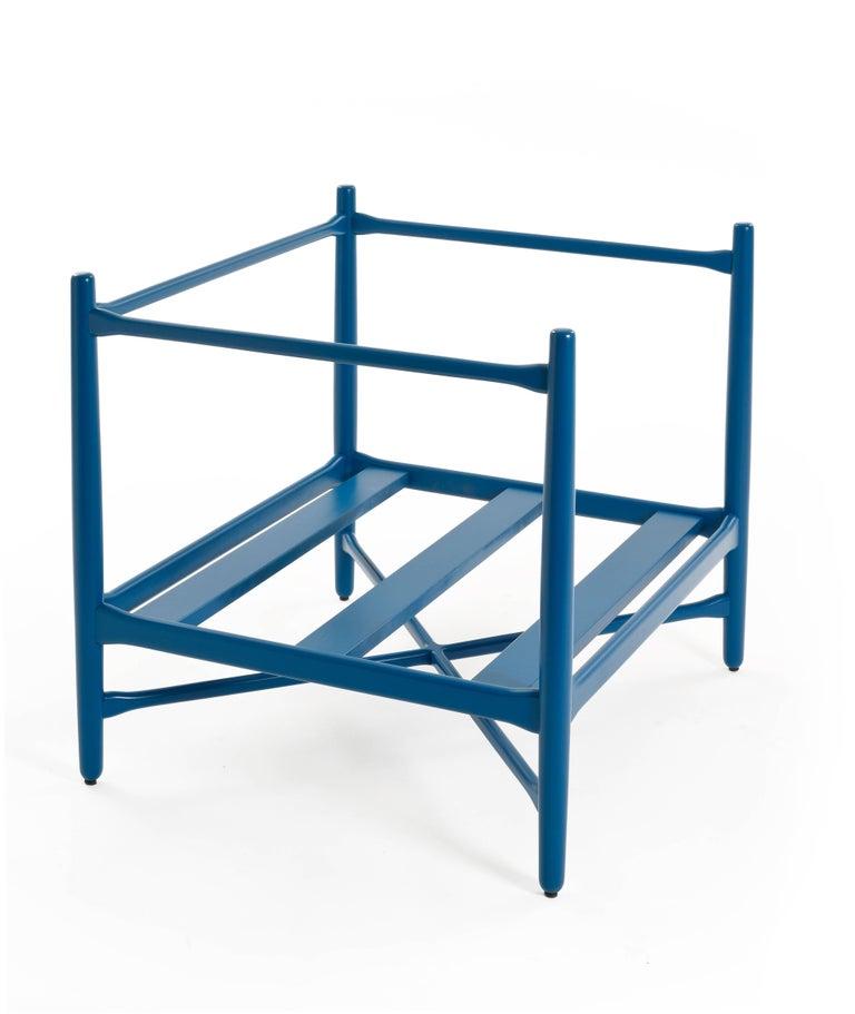 Loka Armchair Beech, Comfortable Design Upholstery Modern Style For Sale 1
