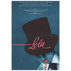 """""""Lola"""" 1982 Czech A3 Film Poster"""