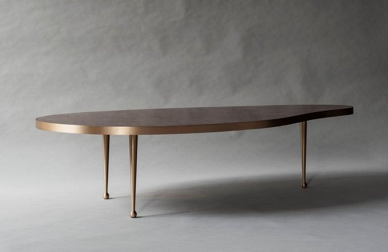 American Lola Coffee Table by DeMuro Das For Sale