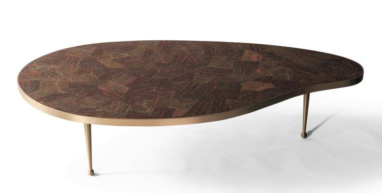 Contemporary Lola Coffee Table by DeMuro Das For Sale