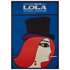 'Lola' Original Vintage Movie Poster, Polish, 1967