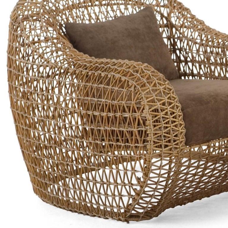 Lombok Armchair Indoor or Outdoor In New Condition For Sale In Paris, FR