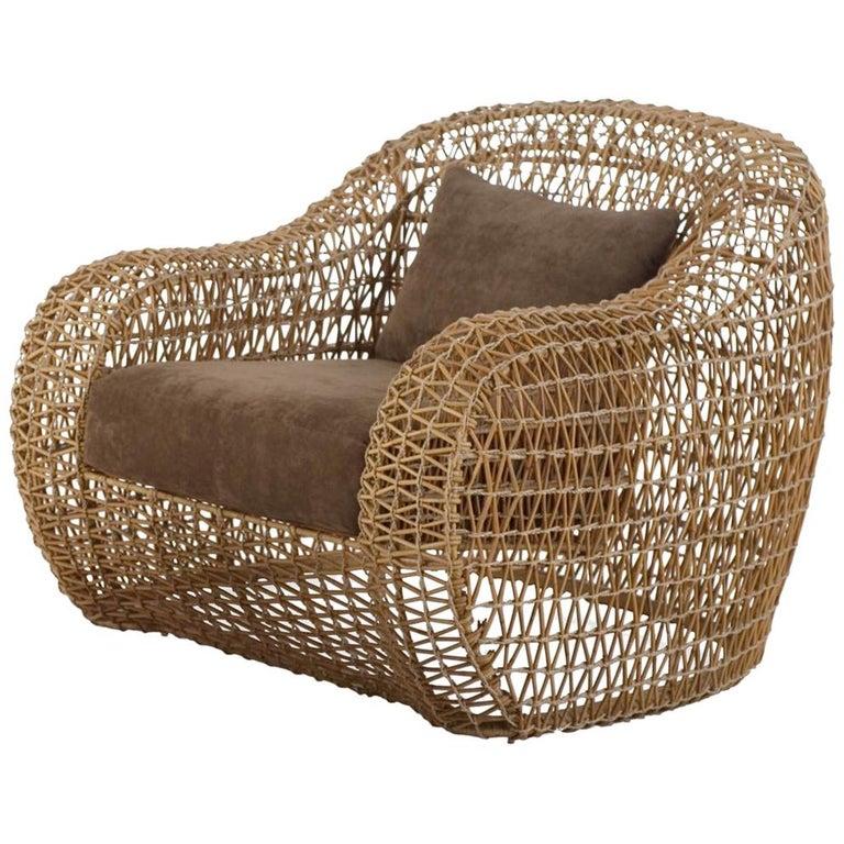 Lombok Armchair Indoor or Outdoor For Sale