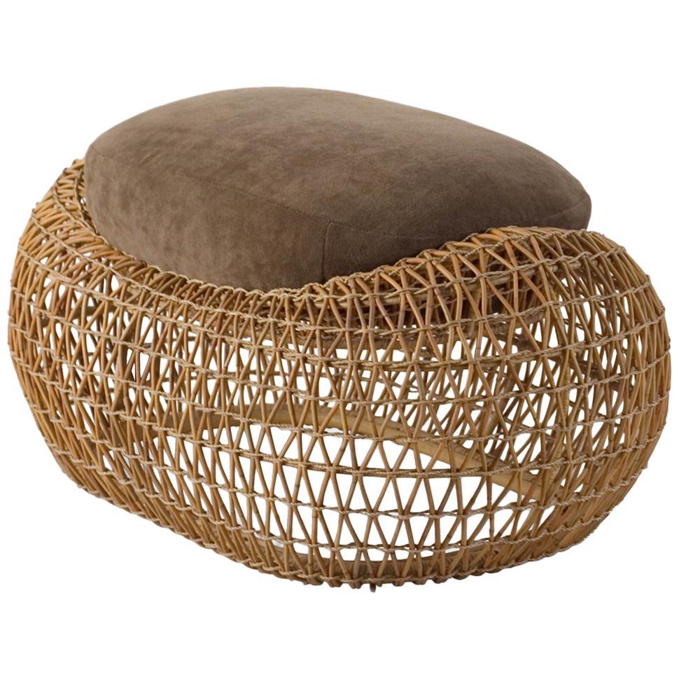 Lombok Stool or Footrest Indoor or Outdoor