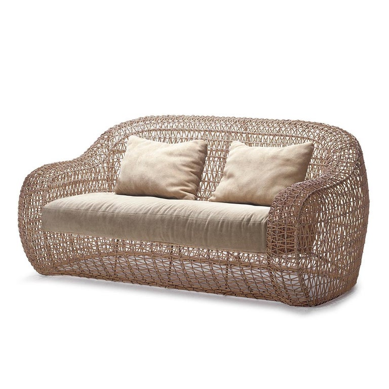 Lombok Big Sofa or Medium Sofa Indoor or Outdoor In New Condition For Sale In Paris, FR