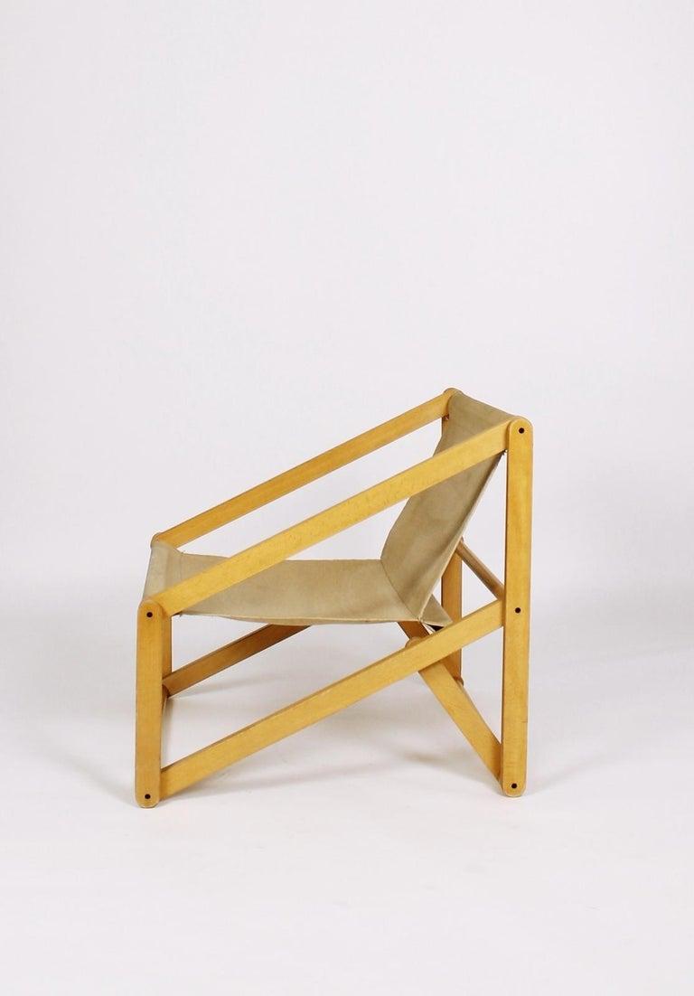 Modern London Folding Chair Günter Sulz, Germany, 1971 For Sale