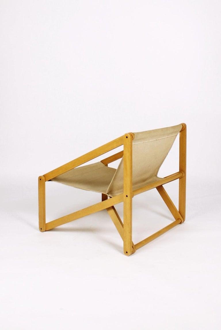 London Folding Chair Günter Sulz, Germany, 1971 In Good Condition For Sale In Debrecen-Pallag, HU