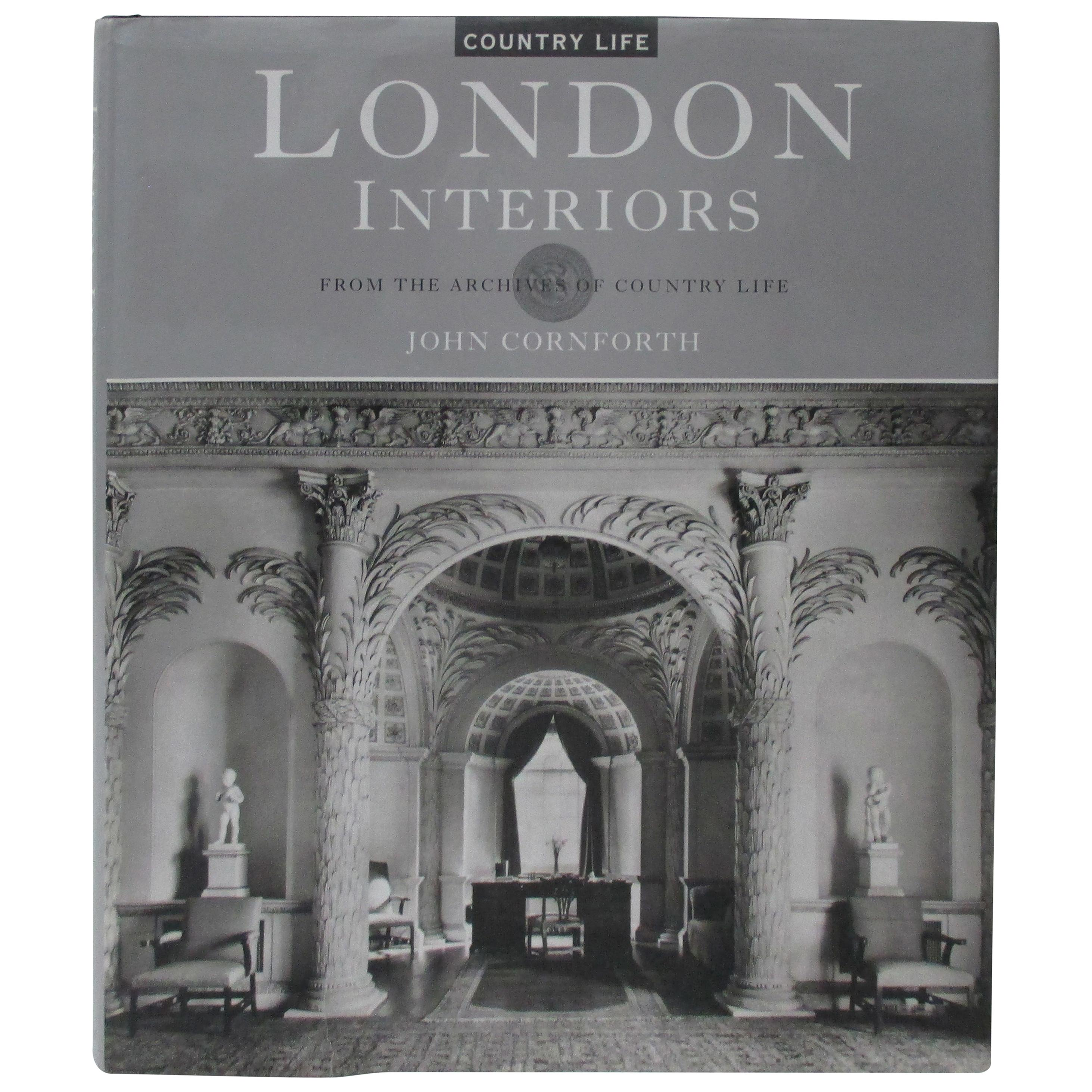 London Interiors Hardcover Decoration Book