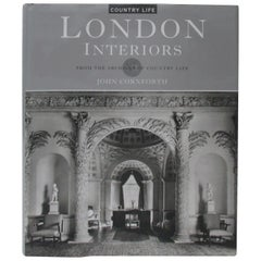 London Interiors Hardcover Decoration Book