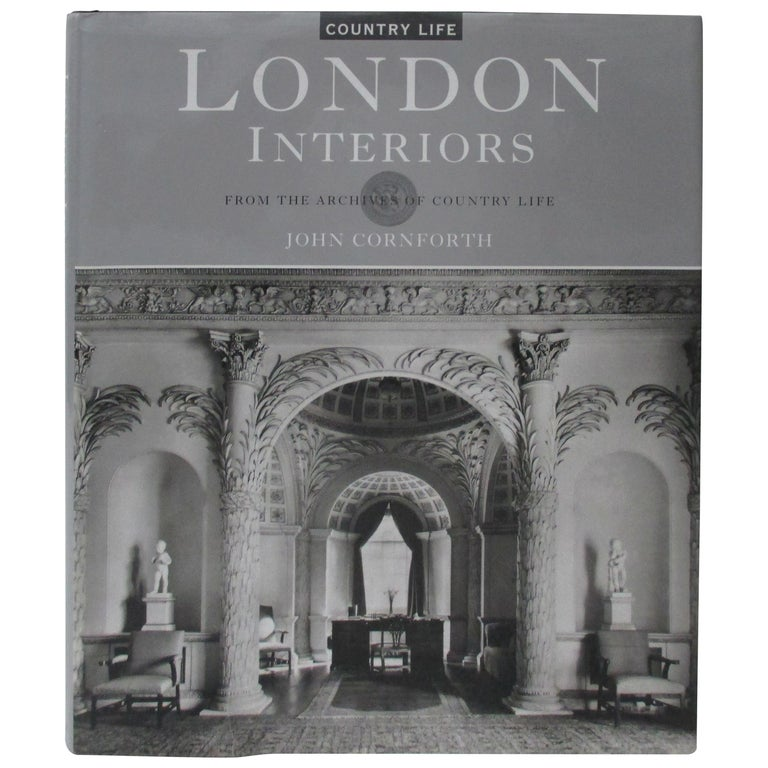 London Interiors Hardcover Decoration Book For Sale