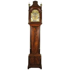 London Mahogany Pagoda Longcase Clock Grice of Wandsworth