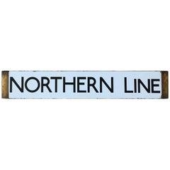 London Underground Tube Line Board 1938 Northern Line