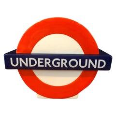 London Underground / Tube / Subway Logo Ceramic Cookie Jar