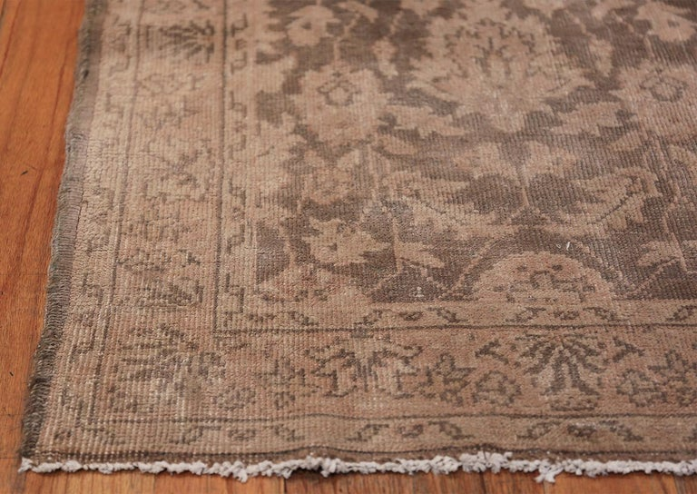 Other Long and Narrow Vintage Turkish Sivas Runner For Sale