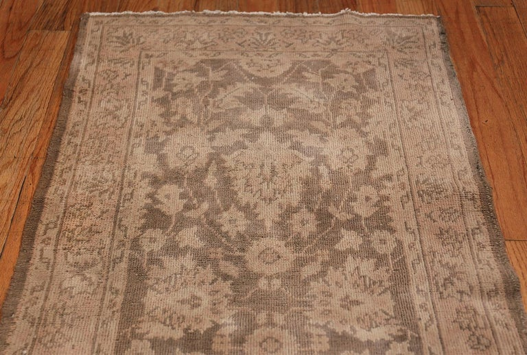 Wool Long and Narrow Vintage Turkish Sivas Runner For Sale