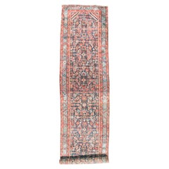 Long Antique Persian Heriz Runner, circa 1880
