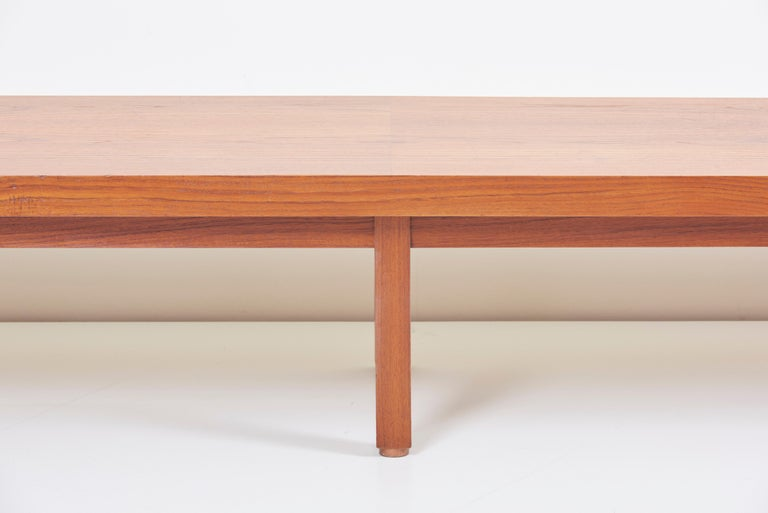 Enjoyable Long Bench In Teak Denmark 1960S Gmtry Best Dining Table And Chair Ideas Images Gmtryco