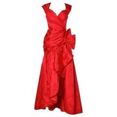 Long evening red dress Mignon New-York