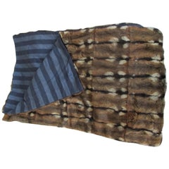 Long Fur Sofa Bed Throw Blanket