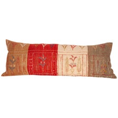 Long Kilim Pillow Case Fashioned from a South East Anatolian Kilim
