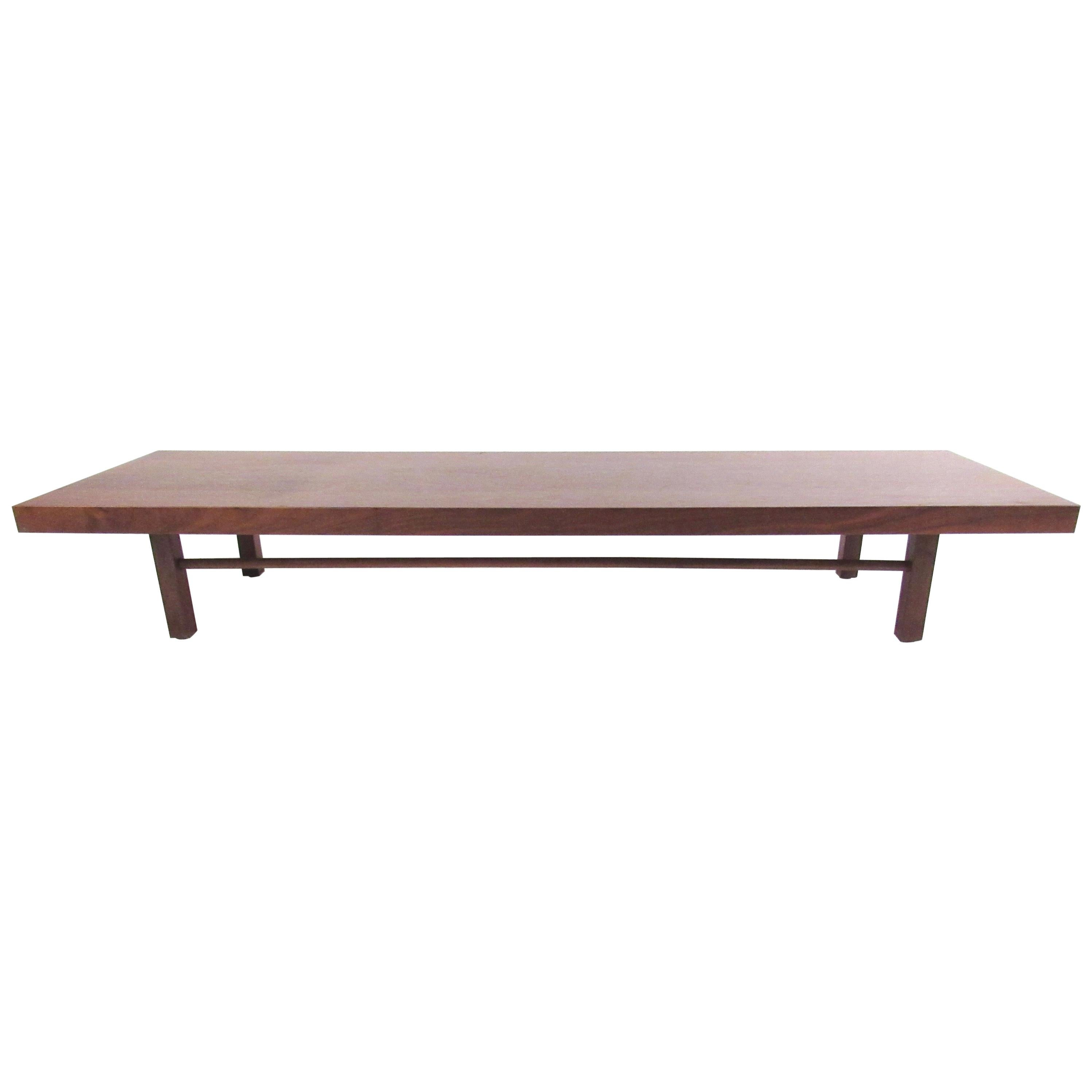 Ordinaire Long Low Coffee Table By Milo Baughman For Thayer Coggin