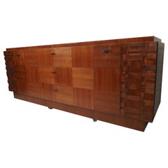 Long Midcentury Sideboard Dresser