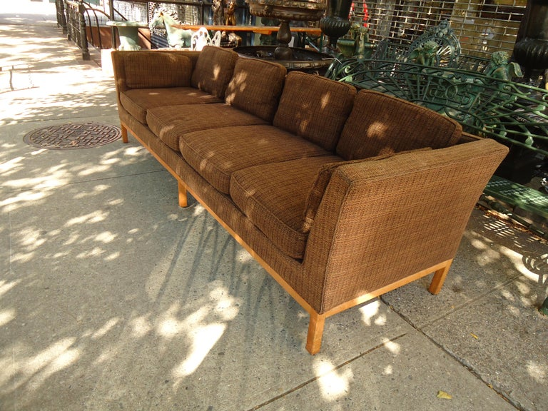 Mid-Century Modern Long Midcentury Sofa by Thayer Coggin For Sale