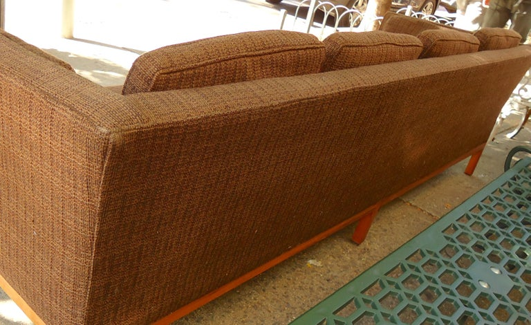 Mid-20th Century Long Midcentury Sofa by Thayer Coggin For Sale