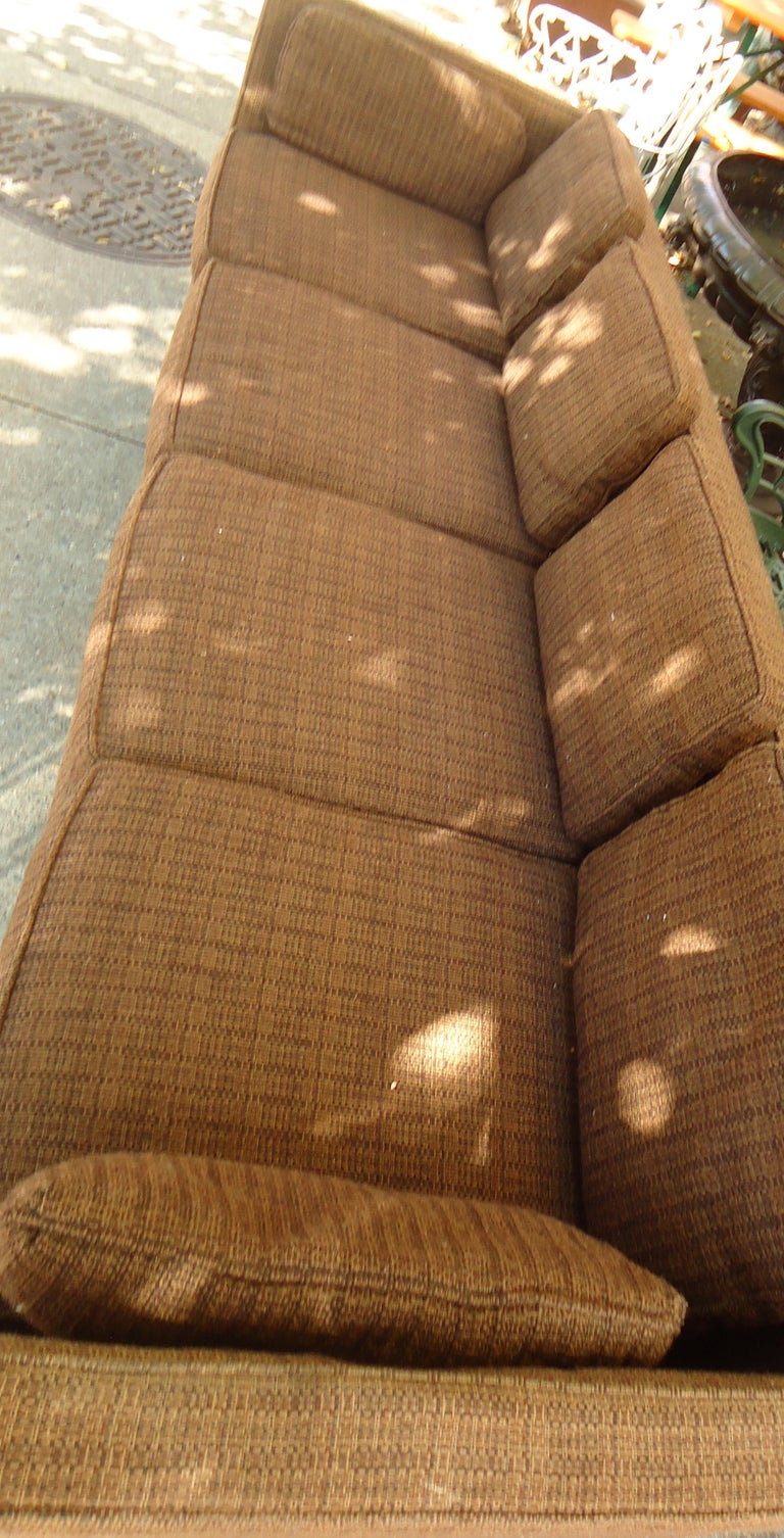 Long Midcentury Sofa by Thayer Coggin For Sale 2