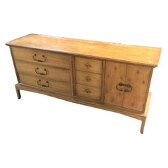 Long Midcentury Dresser or Credenza