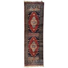 Long Pakistan Vintage Rug