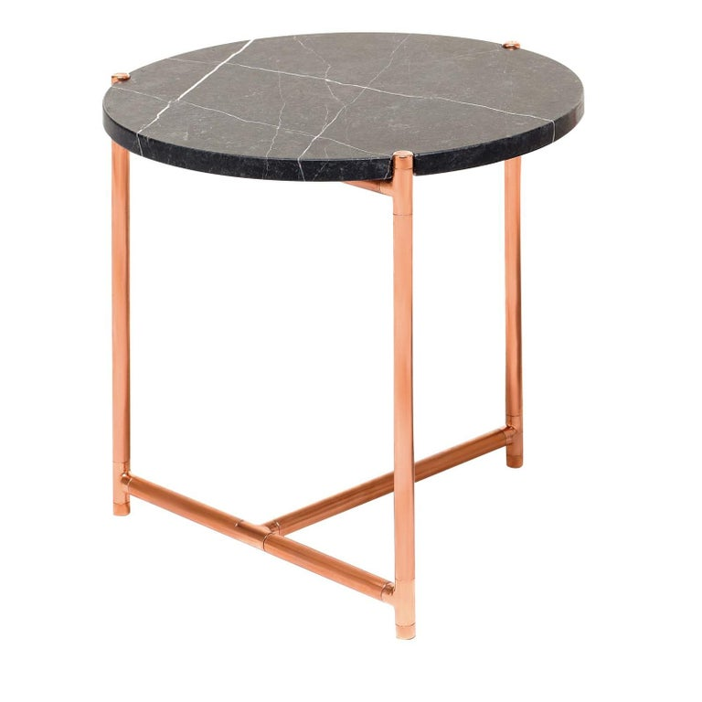 Italian Long Playing Low Side Table by Alberto Colzani For Sale