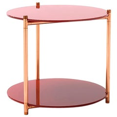 Long Playing Side Table Low