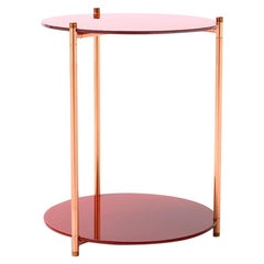 Long Playing Side Table Tall