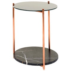 Long Playing Tall Side Table by Alberto Colzani