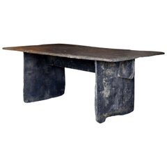 Long Slate Dining Table