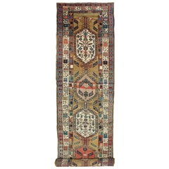 Long Tribal Persian Antique Serab Runner