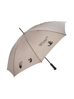 Off-White Long Umbrella Taupe Black