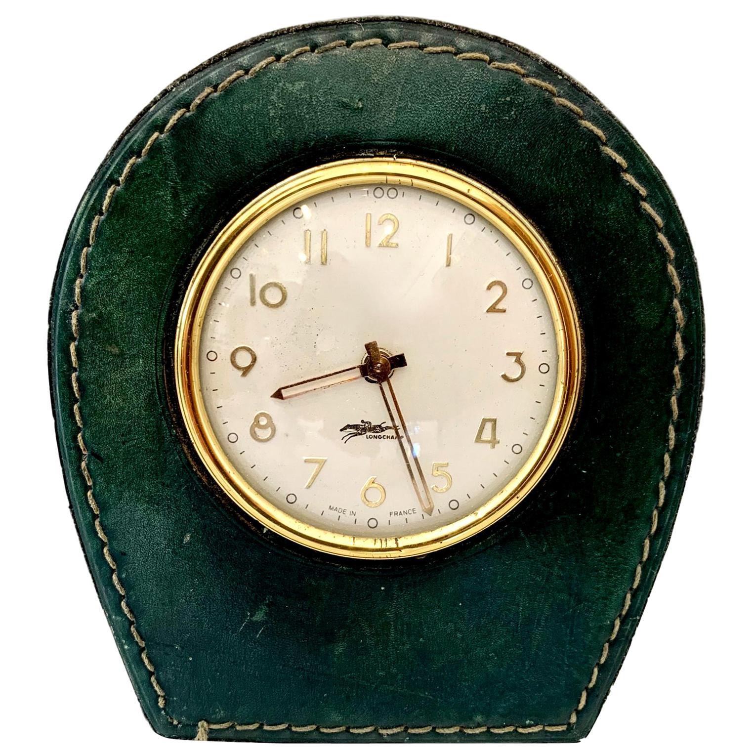 Longchamp Leather Clock