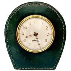 Longchamp Leather Clock